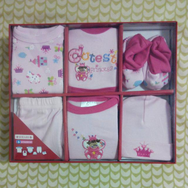 (Reserved) Shears Baby Girl Gift Set