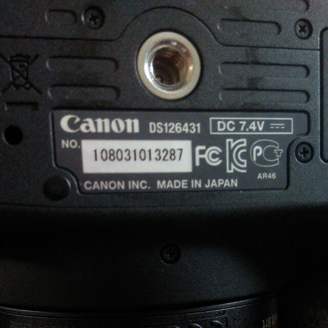 Canon DS126431 700D , Photography on Carousell