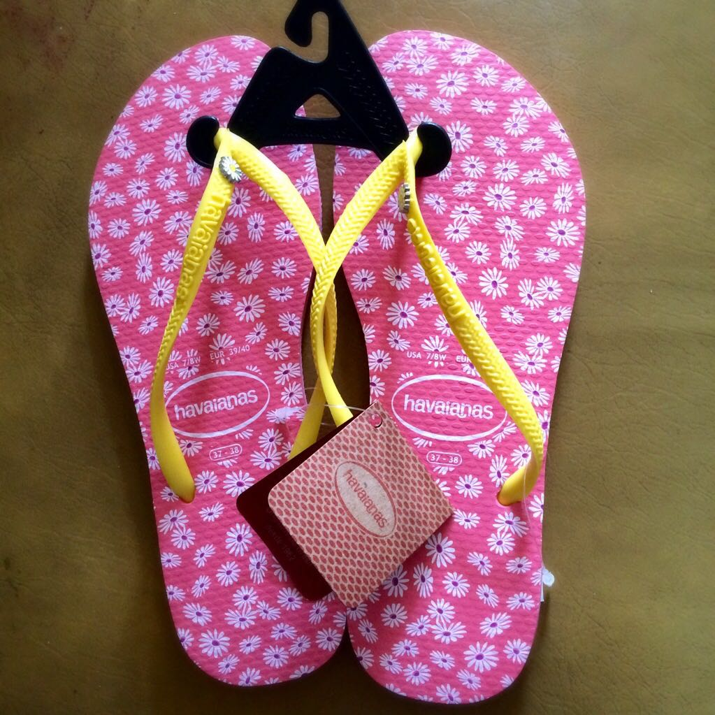 Havaianas Coral Slim Sunny II Flip Flops