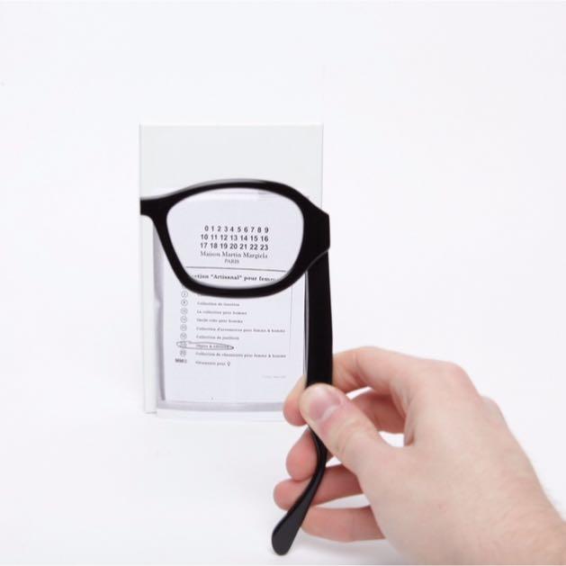PENDING—Maison Martin Margiela Black Magnifying Glasses