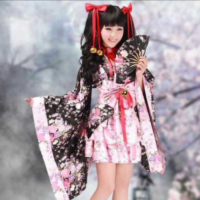PO Yukata Kimono Dress
