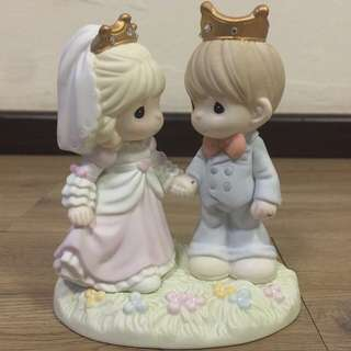 PRECIOUS MOMENT Figurines (Happily Ever After)