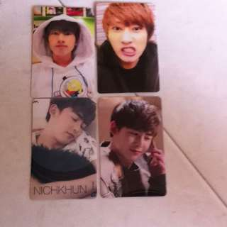 KPOP Ez-link Cards Stickers