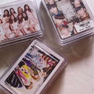 KPOP Poker Cards - SM Artists