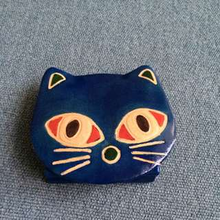 Leather Pouch (Cat)