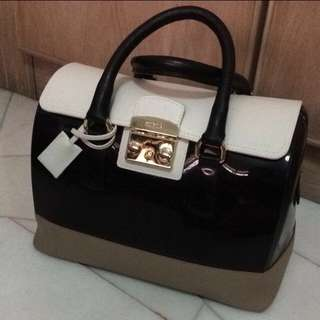 Furla Candy With Leather Bag