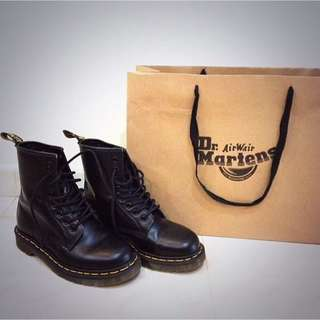 Doctor Martens Air Wair Boots (Black)