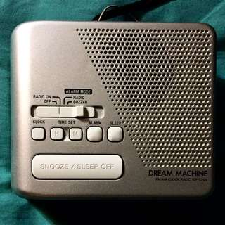 Sony FM / AM Radio Alarm Clock