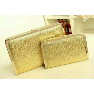 Clutch in Glamour Gold (LIMITED TIME OFFER)