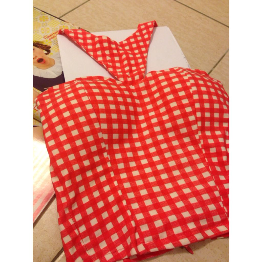 Brand New Checkered Top