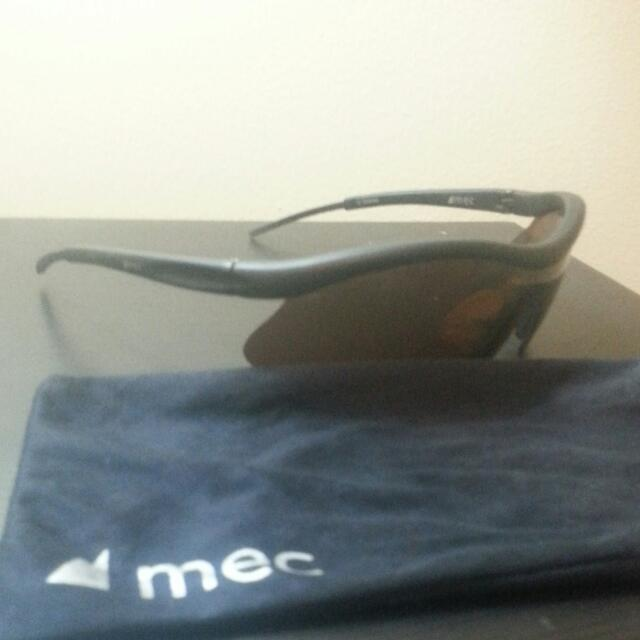 MEC Espresso Sunglasses W/ MEC Sunglasses Bag