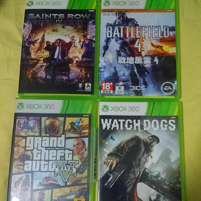 XBOX 360 Used Games (Price In Description), Toys & Games on