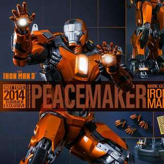 Hot Toys Ironman mark 36 Peacemaker (brand new)