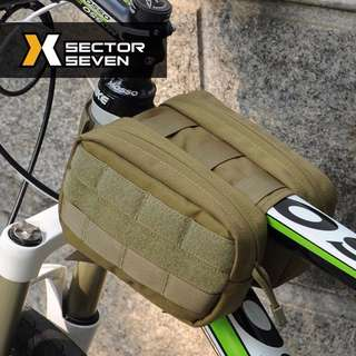 BNIP Sector Seven Tactical MOLLE MTB Riding Load Pouch ( Sand )