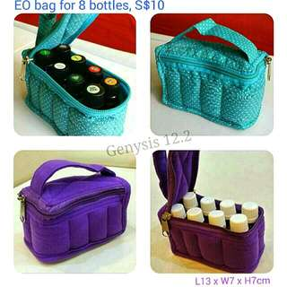 Essential Oils Pouch / Bag (8 bottles)