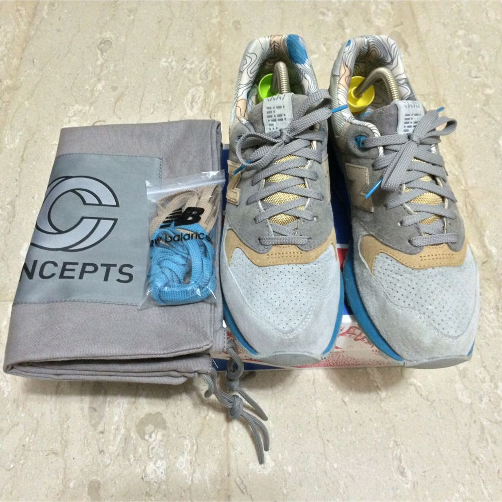 new product e5f89 327be NEW BALANCE 999 X Concepts