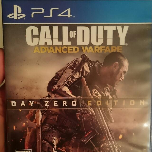 Ps4 Call Of Duty Advanced Warfare.