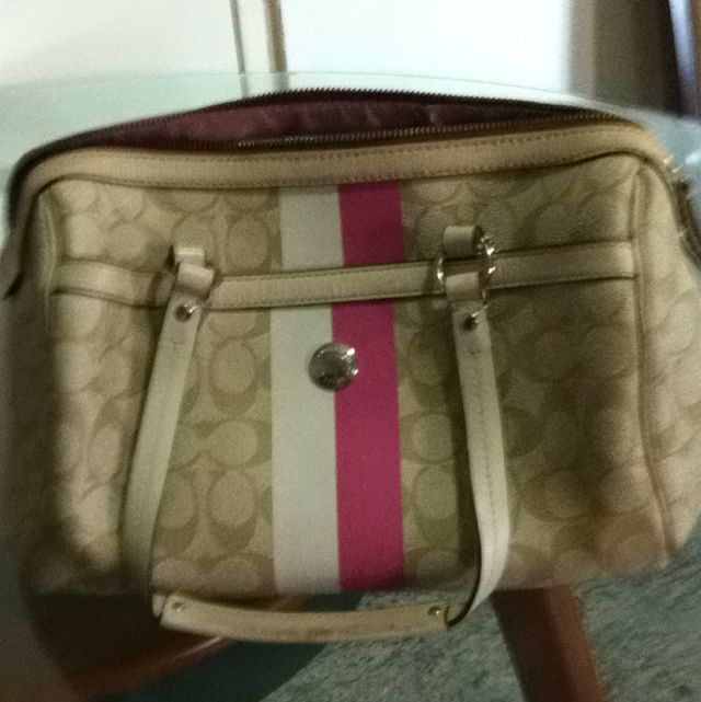 Preloved Coach bag --authentic
