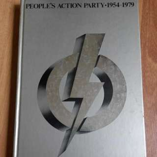 People's Action Party (pap) 25th Anniversary Issue Of Petir