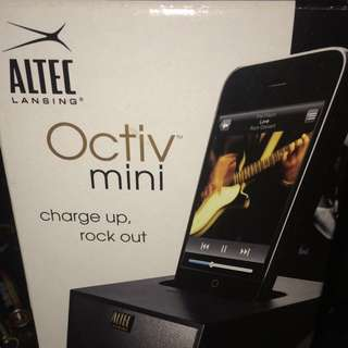 Altec Lansing Octiv Mini iPod iPhone Music Player