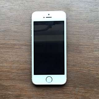 iPhone 5s White/silver 32GB