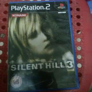 USED PS2 SILENT HILL 3[pending]
