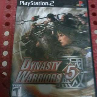 USED PS2 DYNASTY WARRIORS 5(Reduced Price)
