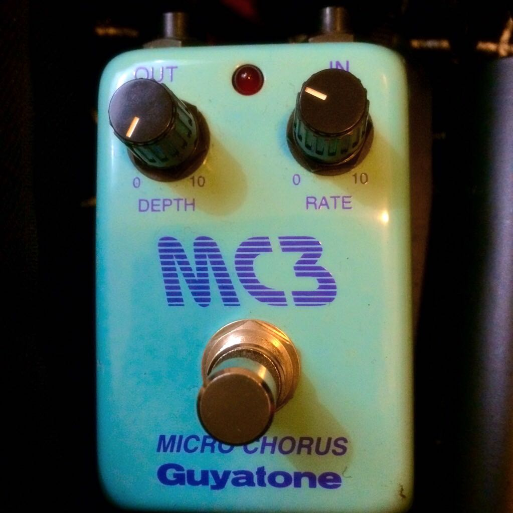 Guyatone Micro Chorus Mc3 Pedal