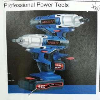 Brand New Ander 20V Cordless Impact Wrench