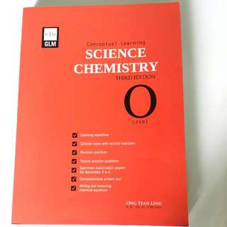 O Level Science Chemistry Assesment Book