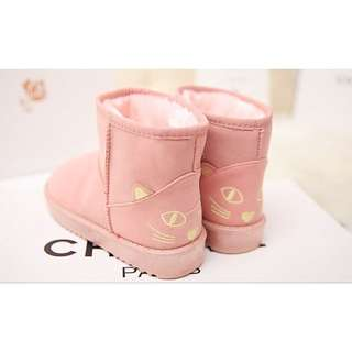 Pink Cat Boots