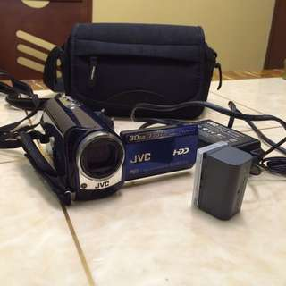 JVC HandyCam 35x Opt Zoom 30GB hdd