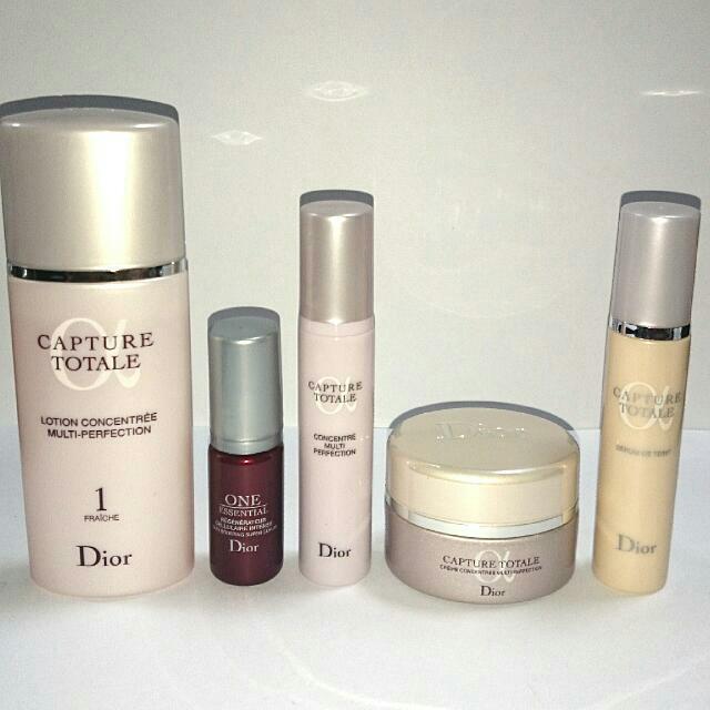 4d52ff27 Dior Capture Totale Lotion Serum Crème Foundation 5-pc Travel Set! Great  Value!!