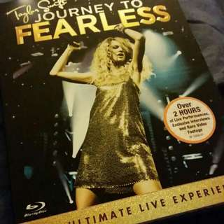 BRAND NEW Journey To Fearless DVD