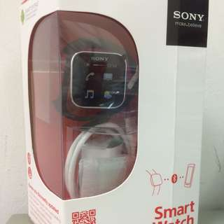 [sold] Brand New Sony Smart Watch for Android