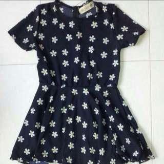 (LAST PC) Daisy Babydoll Dress