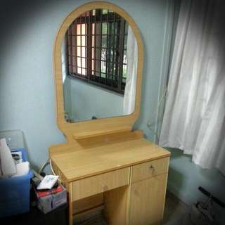 Mirror Dressing Table - House Moving Sale