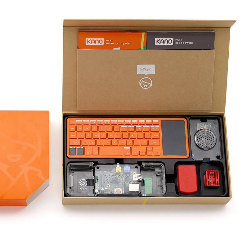 Kano - Make a Computer Kit (Linux/Raspberry Pi)
