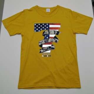 Yellow T-Shirt (from Korea)