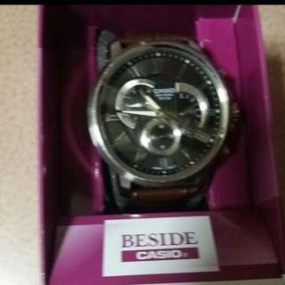 Casio BESIDE watch. Authentic. Comes With Warranty Card.