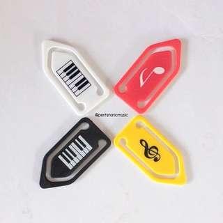 Musical Sign Mini Clip