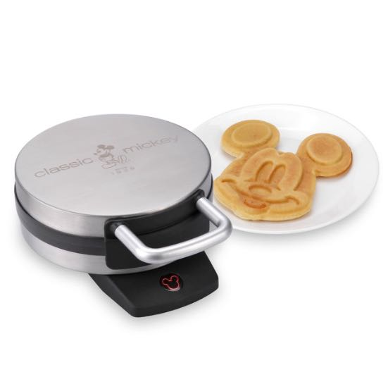 *BRAND NEW* Disney Waffle Maker (Mickey), Brushed Stainless Steel