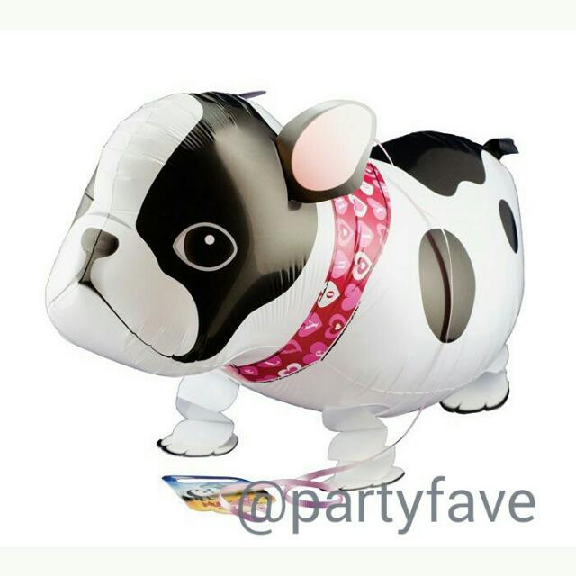Bulldog Walking Pet Balloon - Airwalk Balloon