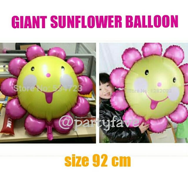 Giant Sun Flower Balloon