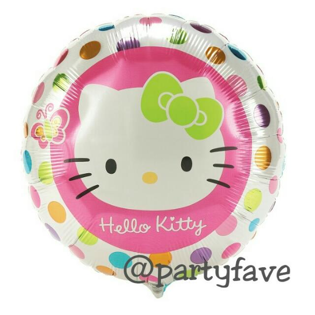Hello Kitty Polka Balloon