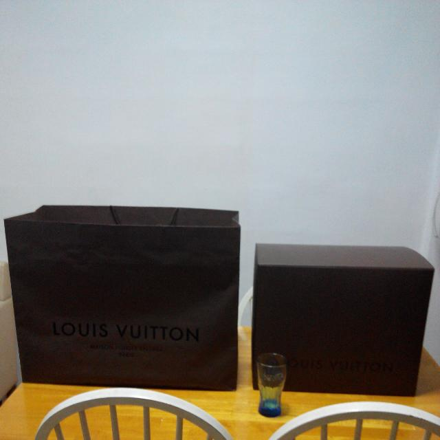 Louis Vuitton LV Large Box and Paper Bag