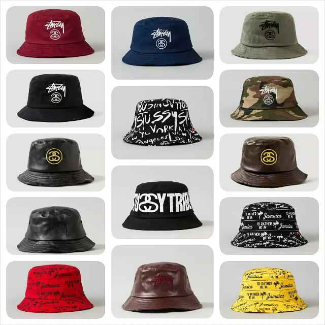 e3d7570bd58 PREORDER AUTHENTIC STUSSY BUCKET HATS