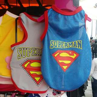 Superman Drifit Apparels For Dogs