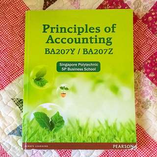 SP Textbook Principle Of Accounting