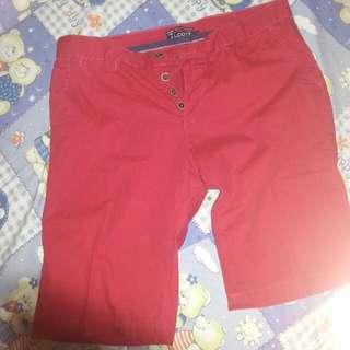 Alcott Bermudas (Red)